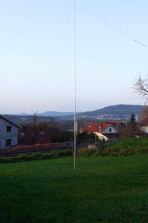 80/40 m antenna at home